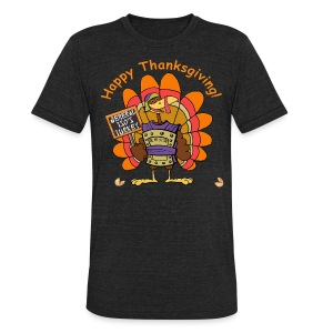 General Tso's Thanksgiving - Unisex Tri-Blend T-Shirt by American Apparel