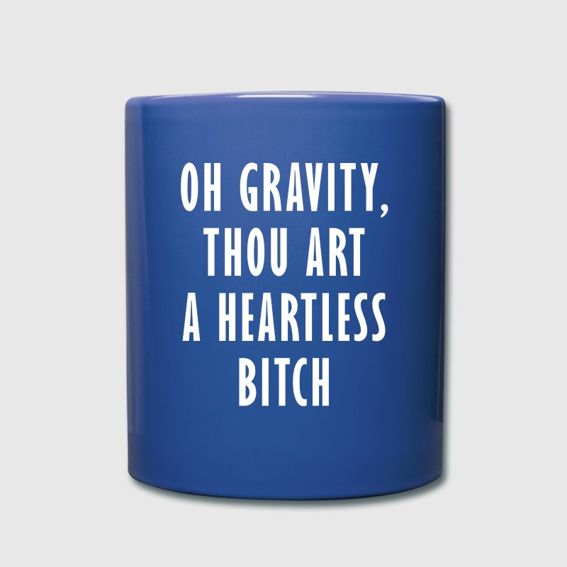TBBT Oh Gravity TV & Movies T-shirt Mugs & Drinkware - Full Color Mug