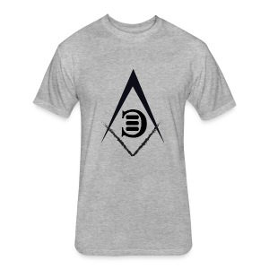 EC LOGO 1 - Fitted Cotton/Poly T-Shirt by Next Level