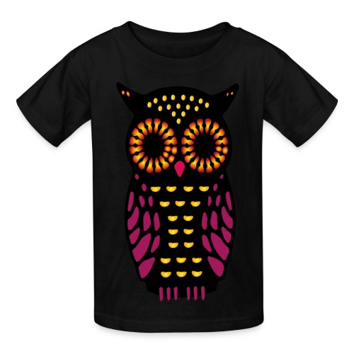 Toddler's Owl Tee  - Kids' T-Shirt