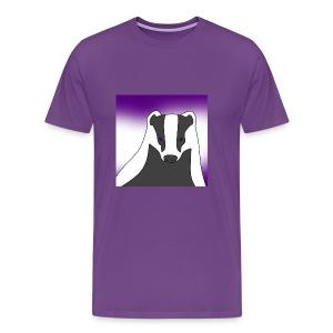 BradBadgerBasic Men's T-Shirt - Men's Premium T-Shirt