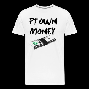 Ptown Money - Stacking [All Colors] - Men's Premium T-Shirt