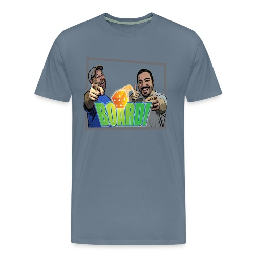 BOARD! Men's T-Shirt - Men's Premium T-Shirt