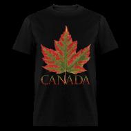 T-Shirts ~ Men's T-Shirt ~ Men's Canada Maple Leaf T-shirt Canada Souvenir Shirts