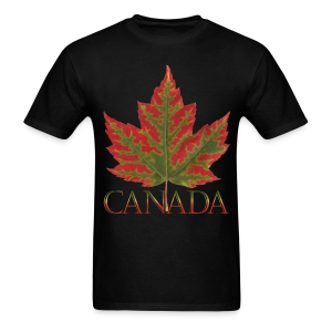 Men's Canada Maple Leaf T-shirt Canada Souvenir Shirts - Men's T-Shirt