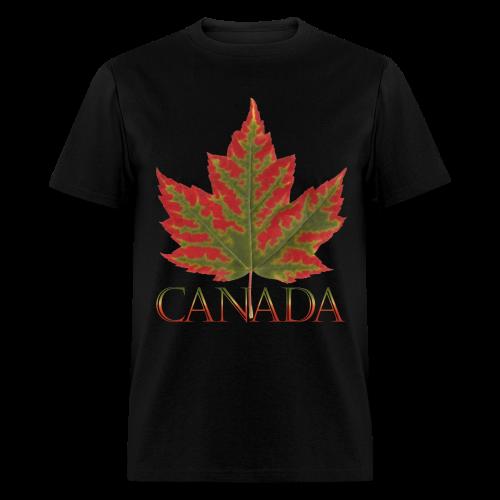 Men's Canada Maple Leaf T-shirt Canada Souvenir Shirts - Men's T-Shirt