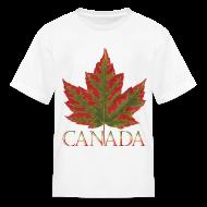 Kids' Shirts ~ Kids' T-Shirt ~ Kid's Canada Maple Leaf T-shirts