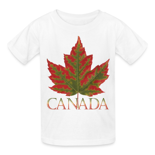 Kid's Canada Maple Leaf T-shirts - Kids' T-Shirt