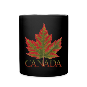Canada Cup Beautiful Autumn Maple Leaf Souvenir Mugs - Full Color Mug