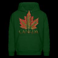 Hoodies ~ Men's Hoodie ~ Canada Maple Leaf Hoodie Canada Souvenir Shirts