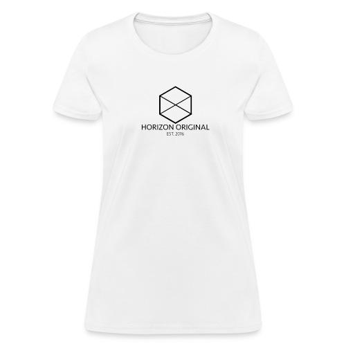 Horizon Original Classic T-shirt [BLACK TEXT] - Women's T-Shirt