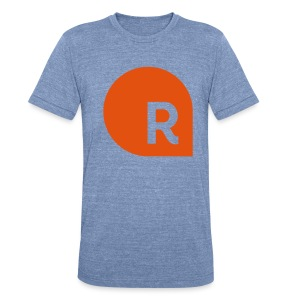 Relevant R Tee - Unisex Tri-Blend T-Shirt by American Apparel