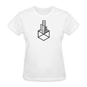 Horizon Original City-Scape T-shirt [BLACK LOGO] - Women's T-Shirt