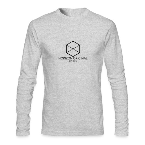 Horizon Original Classic T-shirt [BLACK TEXT] - Men's Long Sleeve T-Shirt by Next Level