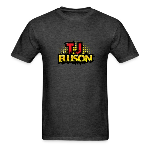 T.J. ELLISON® (Men) Logo T-Shirt (BLACK) - Men's T-Shirt