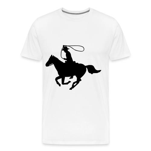 horse power - Men's Premium T-Shirt