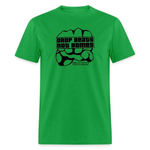 iLL CONVOY - DROP BEATS NOT BOMBS T-Shirt - Men's T-Shirt