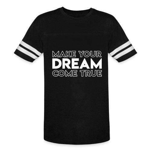 Dream Jersey Tee - Vintage Sport T-Shirt