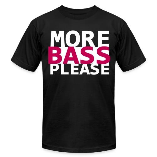 More Bass Please - Men's Fine Jersey T-Shirt