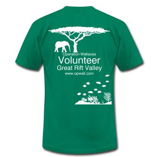 Opwall Great Rift Valley Men's T-Shirt - Men's Fine Jersey T-Shirt