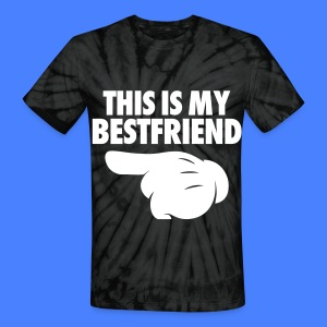 This Is My Bestfriend (Pointing Left) T-Shirts - Unisex Tie Dye T-Shirt