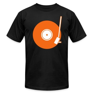 Turntable 2C - Men's T-Shirt by American Apparel