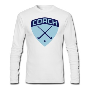 Field Hockey Coach T-Shirt - Men's Long Sleeve T-Shirt by Next Level