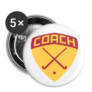 Field Hockey Coach Buttons - Small Buttons
