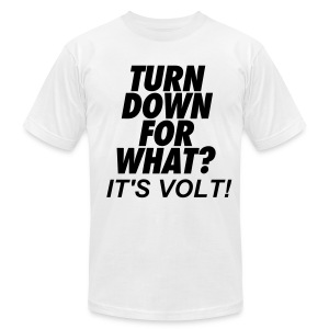 Turn Down T-Shirt - Men's T-Shirt by American Apparel