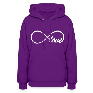 Hooded Sweatshirt Infinity Sign - Women's Hoodie