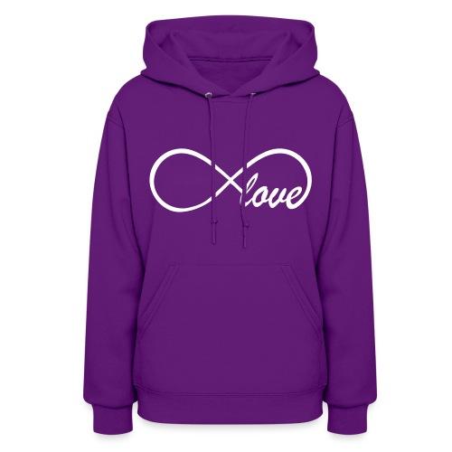 Hooded Sweatshirt Infinity Sign - Women's Hoodie