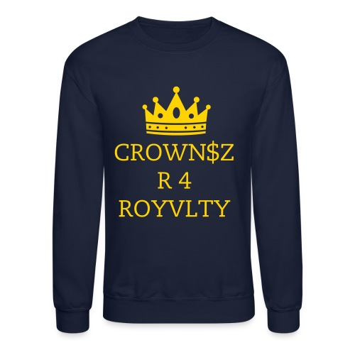 Men's Crewneck (Royalty) - Crewneck Sweatshirt