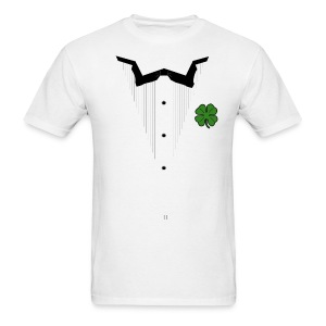 Shamrock Tuxedo Men's St. Patrick's Day T-Shirt - Men's T-Shirt