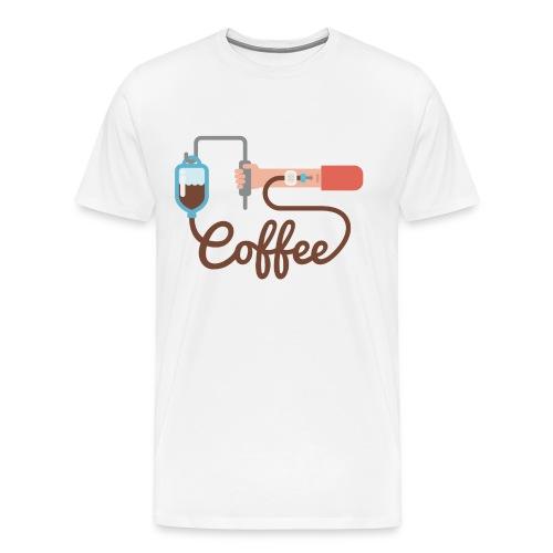 Coffee addiction - Men's Premium T-Shirt