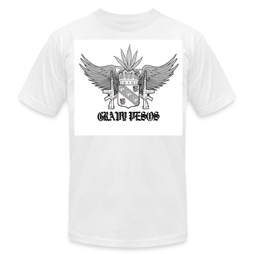 Gray Coat of Arms - Men's Fine Jersey T-Shirt