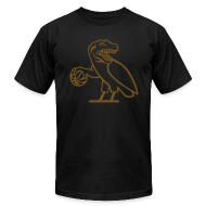 T-Shirts ~ Men's T-Shirt by American Apparel ~ OVO Raptors T-Shirt