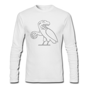 OVO Raptors - Men's Long Sleeve T-Shirt by Next Level