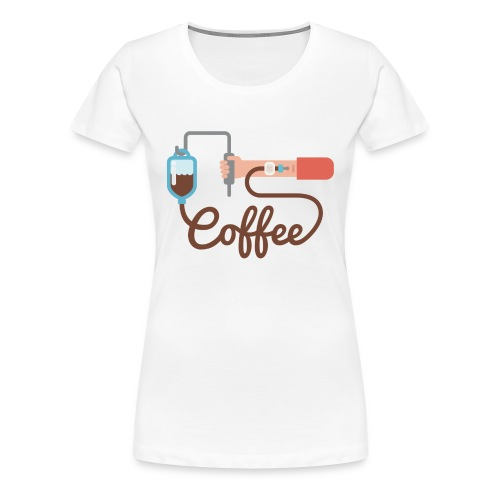 Coffee addiction - Women's Premium T-Shirt