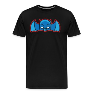 Bat Cowl & Wings - Men's Black - Men's Premium T-Shirt