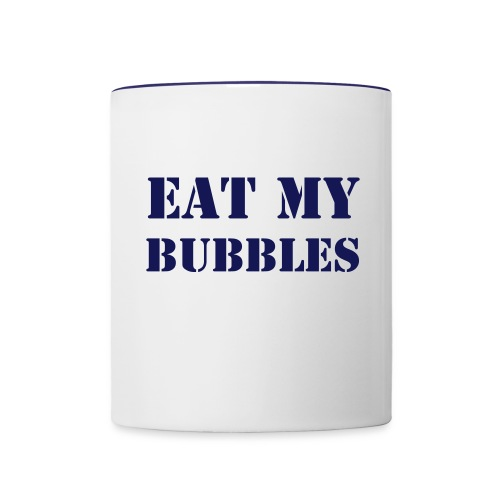 Eat My Bubbles - Contrast Coffee Mug