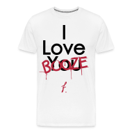T-Shirts ~ Men's Premium T-Shirt ~ I Love You Booze
