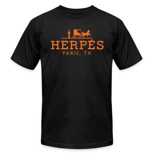 Herpes, Paris, TX™ - Men's  Jersey T-Shirt