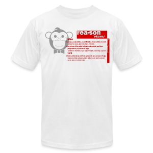 PROMOTE REASON SA - Men's T-Shirt by American Apparel