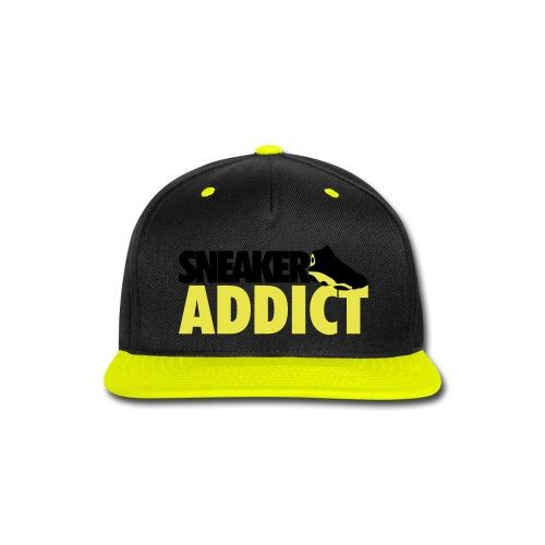 Sneaker Addict Snapback - Snap-back Baseball Cap