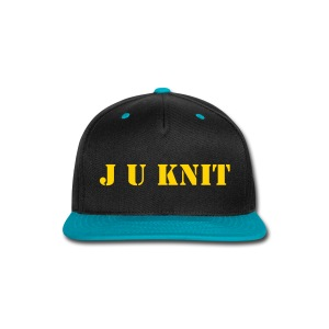 J U KNIT LID - Snap-back Baseball Cap