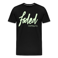 T-Shirts ~ Men's Premium T-Shirt ~ Promo Tee.  [Glow in the dark]