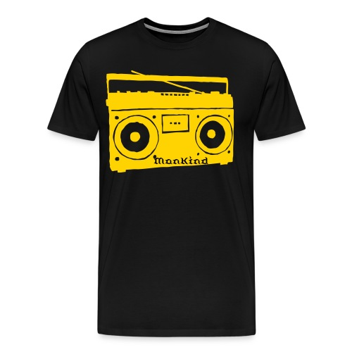 dj mankind - Men's Premium T-Shirt