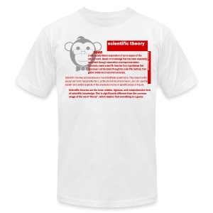 Scientific Theory SA - Men's T-Shirt by American Apparel