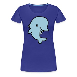 Happy Dolphin - Women's Premium T-Shirt