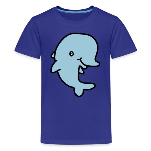 Happy Dolphin - Kids' Premium T-Shirt
